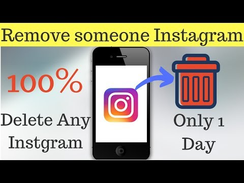 How to Remove Someone Instagram Account
