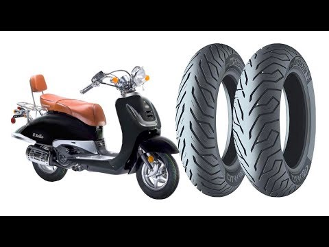 How to replace front and rear tires on a Chinese scooter