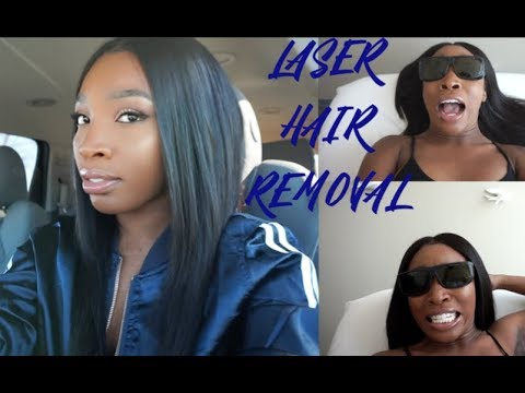 VLOG: Laser Hair Removal | HOW TO: remove bikini line hair/underarm | STOP SHAVING