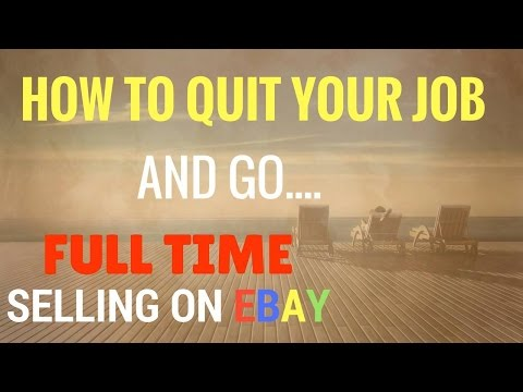 How To Quit Your Job And Go Full Time Selling On Ebay With Ronnie Hart