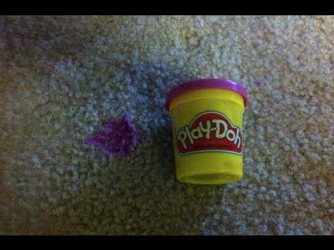 How To Remove Play Doh From The Carpet