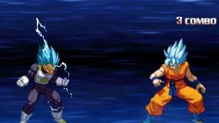 Mugen! UNA BOMBA! Son Goku (Super) Showcase! + Download in