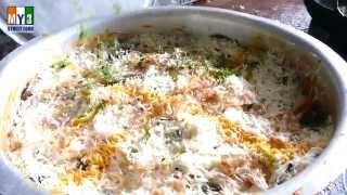 CHICKEN BIRYANI | HYDERABADI CHICKEN BIRYANI | 4K ULTRA HD VIDEO street food