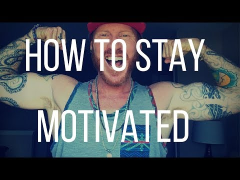 How to STAY MOTIVATED while Naturally healing your skin.