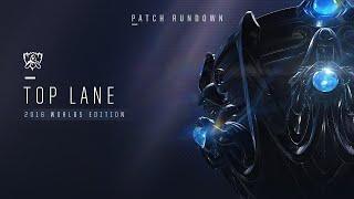 League of Legends Patch Rundowns