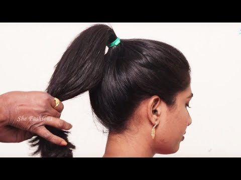 Simple hairstyle for long hair 2018 | Easy Hairstyles for long hair tutorial 2018
