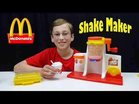 McDonalds Shake Maker Set | COLLINTV