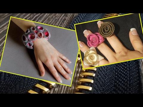 How To Make Denim Jewelry  25 DIY Zipper Bracelet