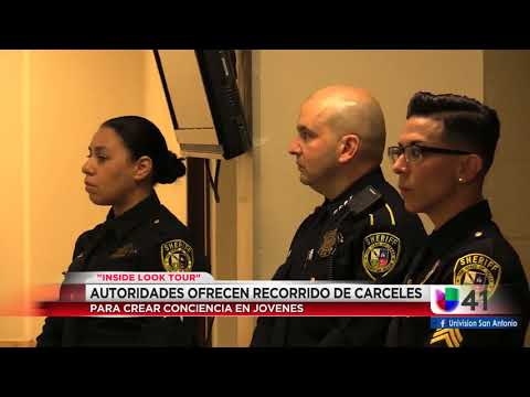 Inside Look Tour Sheriff's office Bexar county