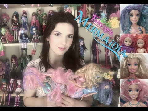 RESCUED DOLLS #46  ~  Pre-owned / second-hand Barbie Fairytopia and Mermedia haul