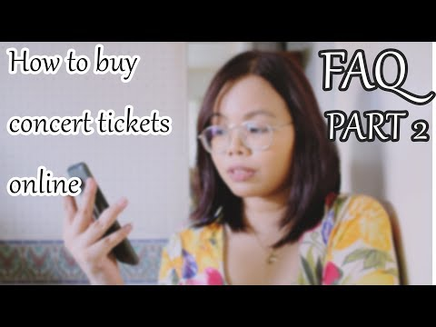 FAQ 2 - How to buy tickets on SM Tickets online (Phiilippines)