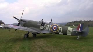 Letecký den Plasy 2017 Spitfire LF Mk.XVIe