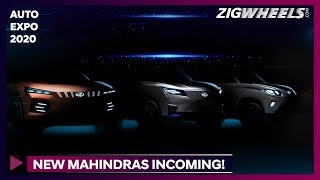 7 Mahindra Cars We Need @ 2020 Auto Expo!