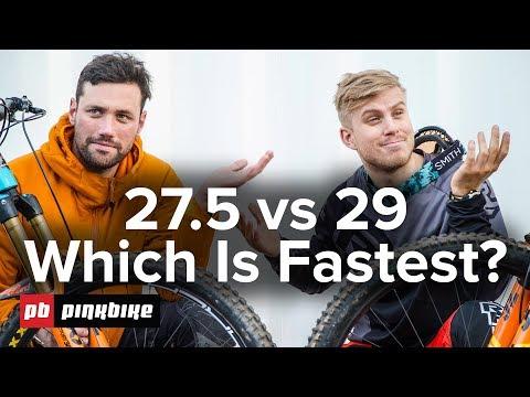 Testing 27.5 vs 29 Mountain Bikes With Rocky Mountain Bicycles