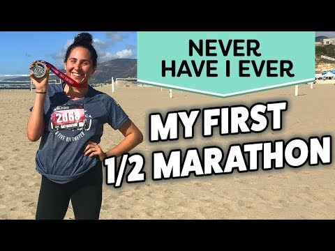 My First Half Marathon Experience & What I Learned | NEVER HAVE I EVER (Karla Gregg)