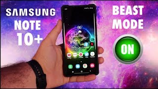 How To Activate Beast Mode On The Galaxy Note 10 / Note 10 Plus!