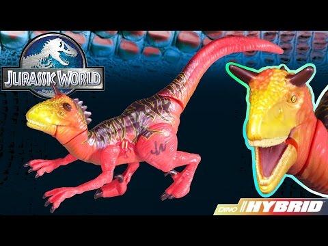 Opening: Jurassic World CARNORAPTOR Dino Hybrid Action Figure Dinosaur Toy