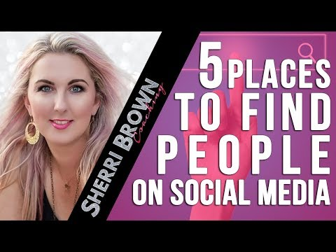 5 Places to Find People on Social Media