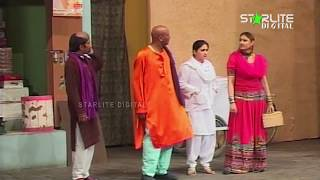 Sakhawat Naz and Akram Uddas New Pakistani Stage Drama  Kali Chader  Full Comedy Clip