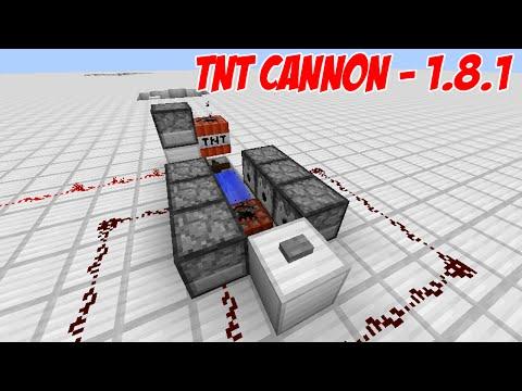 Minecraft Tutorial - TNT Cannon (1.8.1 Ready)