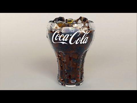 Make materials for coca cola Glass  | Part-2