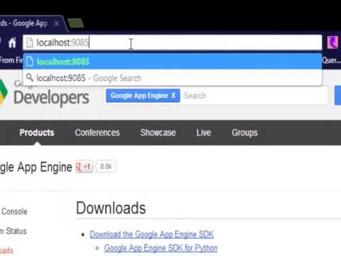 How to create web applications with Google App Engine and Python