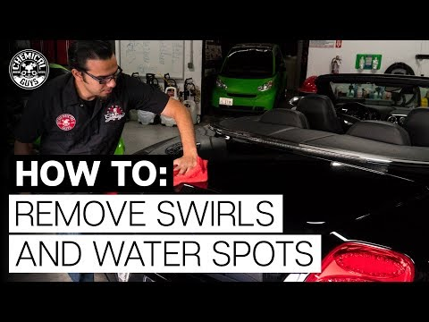 How To Remove Swirl Marks And Water Spots In One Step | Chemical Guys Car Care