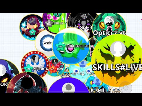 INSANE MOMENTS/ DUO TAKEOVER/ AGARIO MOBILE GAMEPLAY/ EPIC BAITS/ CANNONSPLIT/ SKILLS AGARIO