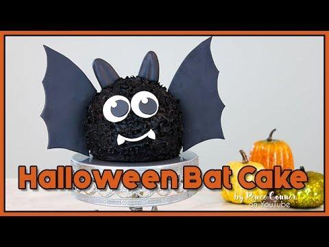 Halloween Bat Cake   Renee Conner