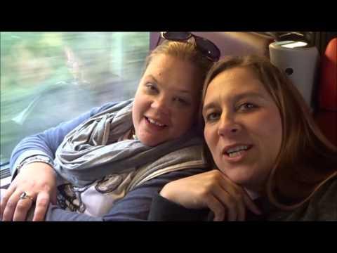 Disneyland Paris October 2016 part 1 -travel, train & Explorers hotel