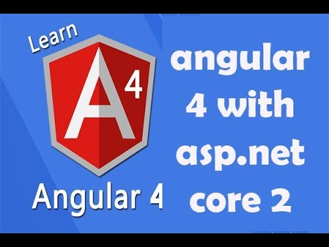 angular 4 with asp.net core 2 and WEB API | REST services | Lecture 5 | Hindi