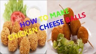 HOW TO MAKE CHICKEN CHEESE BALLS | Chicken Cheese Balls | Chicken and Cheese Shots -