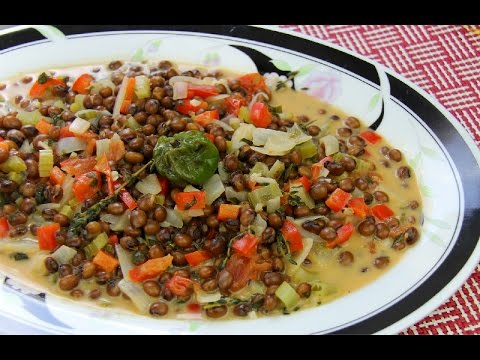 Stewed Dry Pigeon Peas Recipe - Chris De La Rosa