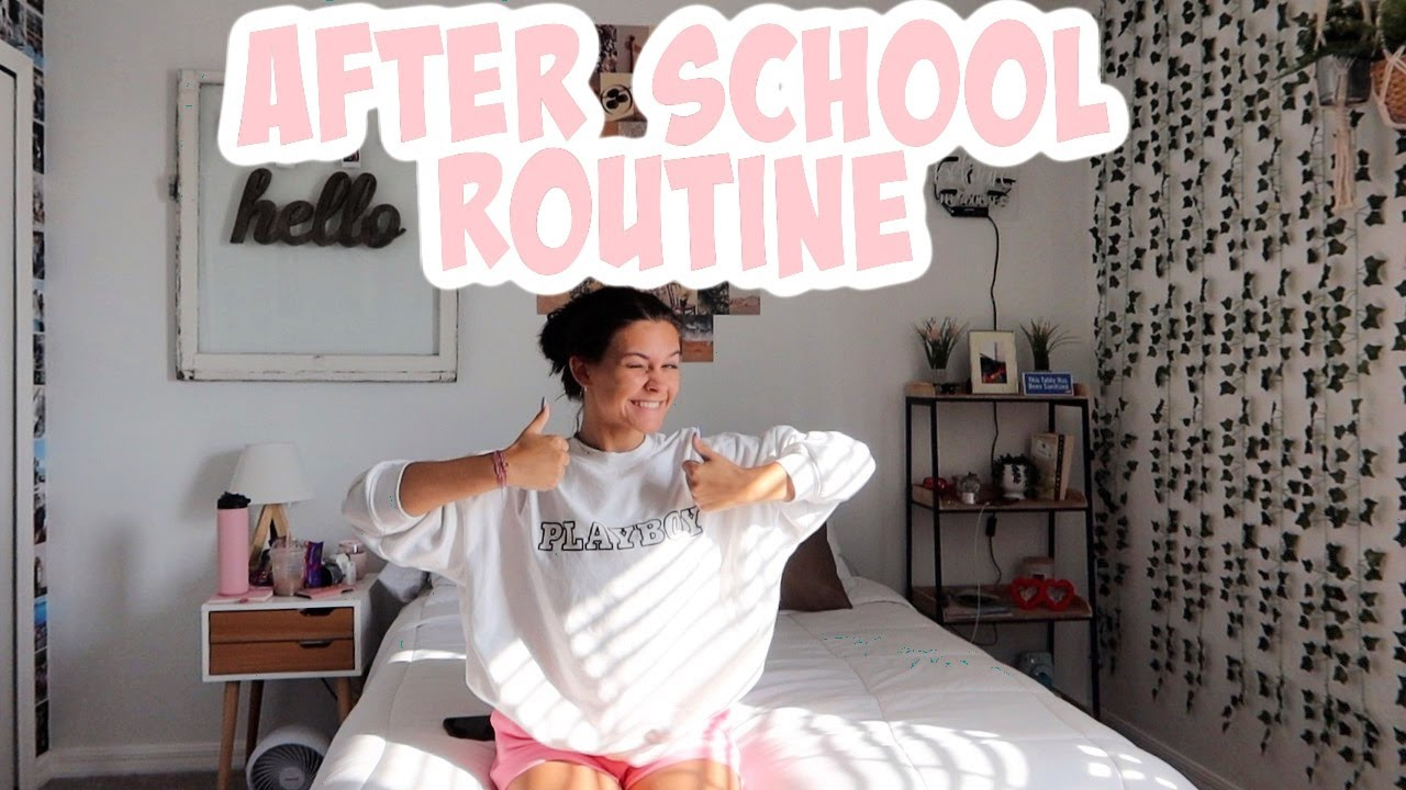 SPRING AFTER SCHOOL ROUTINE 2021! EMMA AND ELLIE