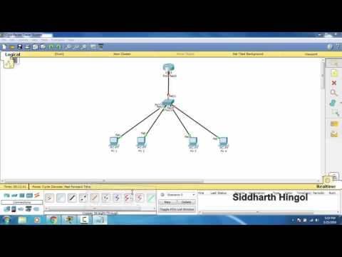 How to create VLAN on cisco switch in packet tracer