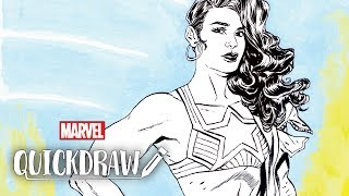 America Chavez comes to life on Marvel Quickdraw