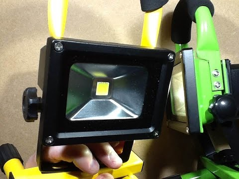 Inside another ebay rechargeable LED work light.