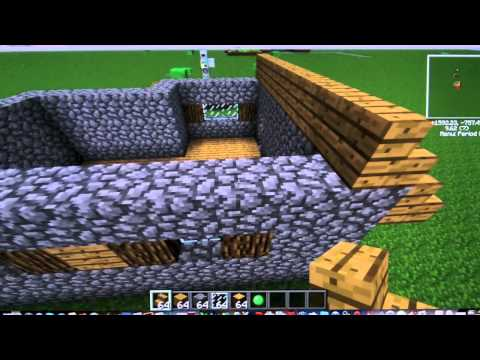 How to Build an NPC Farm and Village (Minecraft and Tekkit)