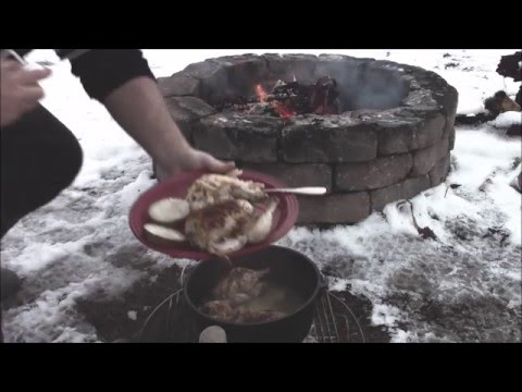 How to cook a Cornish game hen in the dutch oven