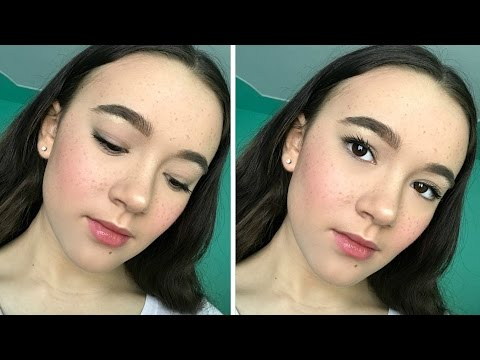 Everyday Makeup Routine: Freckly Edition! FionaFrills Vlogs