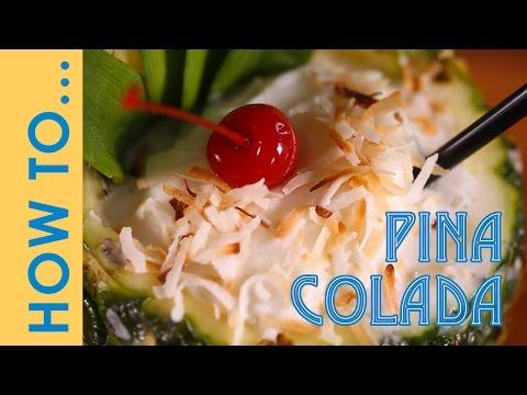 Piña colada Recipe | How To Make A Pina Colada | Chef Jon Ashton