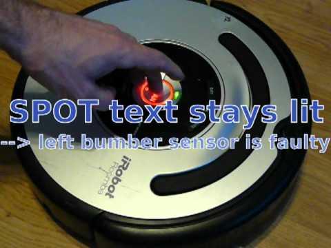 Roomba 560 9 beep error test and fix