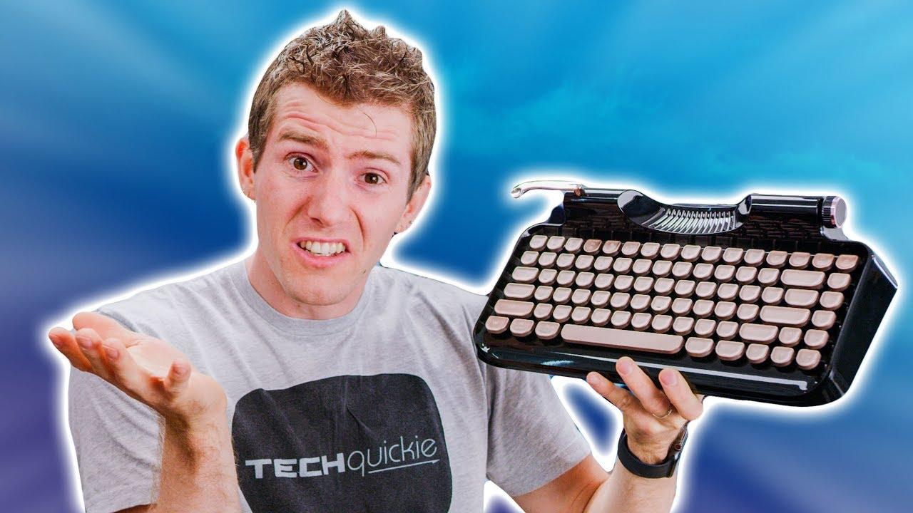 This AWFUL Typewriter Keyboard Raised $350K
