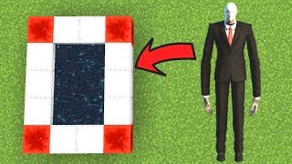 How To Make a Portal to the Slenderman Dimension in Minecraft Pocket Edition