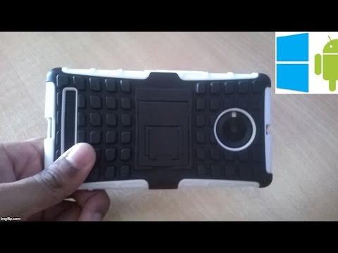 212) Zhopix shockproof+tpu case combo for yu yuphoria unboxing(ebay)