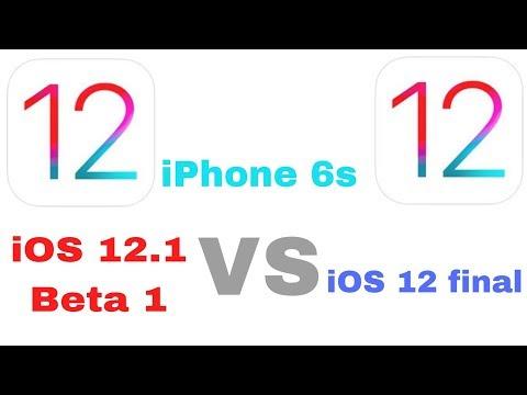 iOS 12.1 beta 1 vs iOS 12 speed test on iPhone 6s | iSuperTech