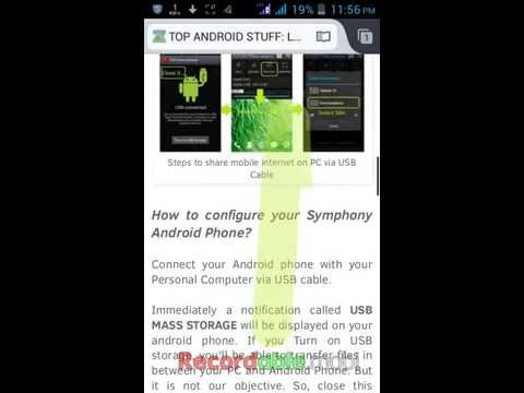 Convert webpage to PDF on android phone without using converter app