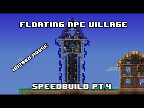 [SPEEDBUILD] - Floating NPC Village #4 (Wizard House)