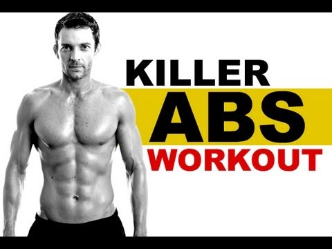 Killer Home Abs Workout with No Equipment