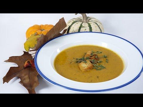 Autumn Harvest Pumpkin Soup (Vegan)